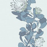 Paint & Paper Library Protea Trail Blue's Blue Wallpaper - Product code: 0393PTBLUES