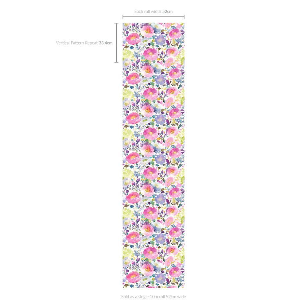 bluebellgray Majorelle Multi Wallpaper - Product code: WN001
