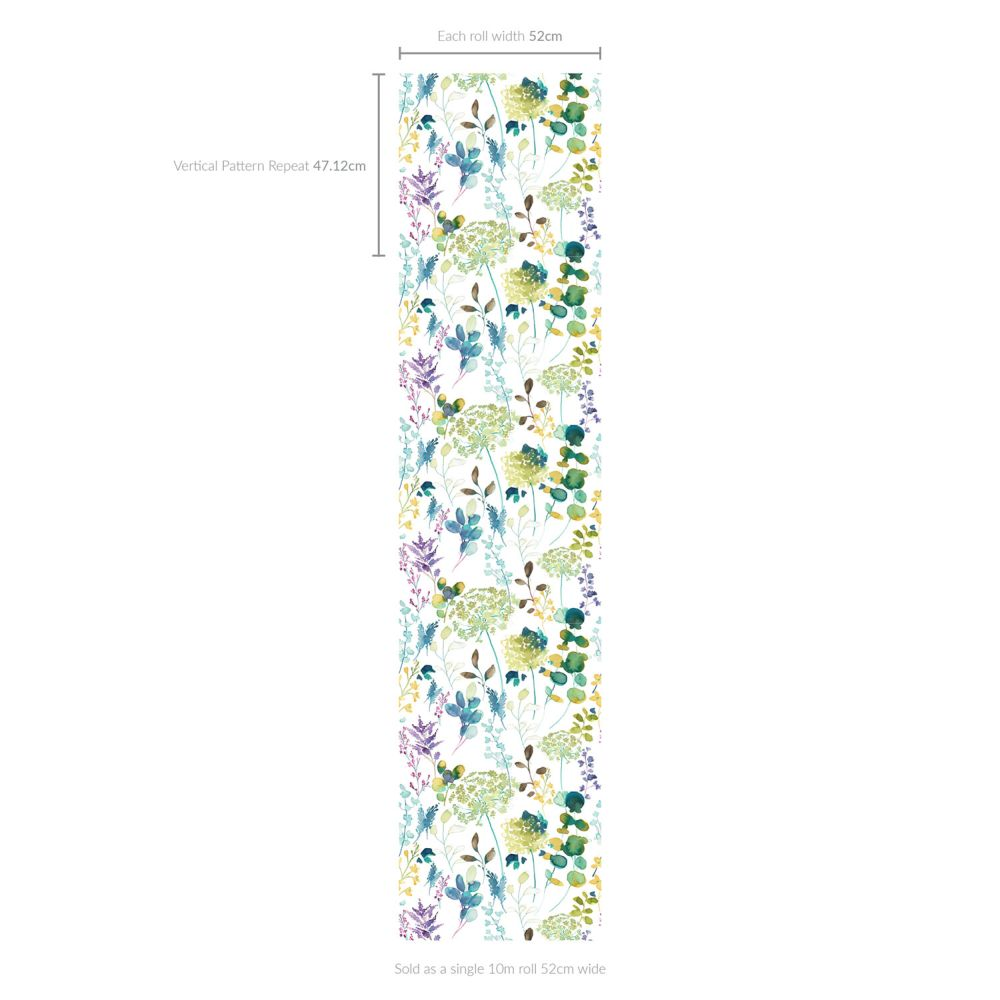 bluebellgray Botanical Multi Wallpaper - Product code: WN003