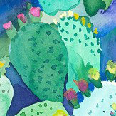 bluebellgray Cactus Green Wallpaper