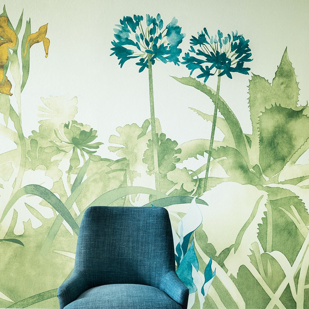Paint & Paper Library Aloe Walk Ice Mural - Product code: 0393AWICEZZ