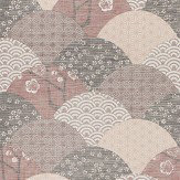 JAB Anstoetz  Okinawa Red Wallpaper - Product code: 4-4088-010