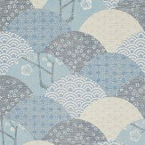 JAB Anstoetz  Okinawa Blue Wallpaper - Product code: 4-4088-050
