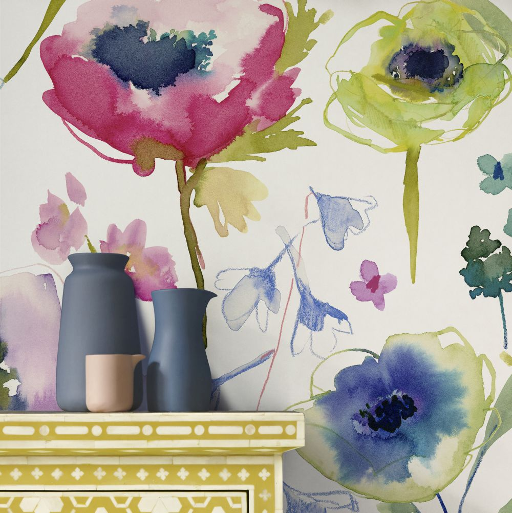 bluebellgray North Garden (Set of 2 x 10m rolls) Multi Wallpaper - Product code: WN021