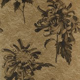 Zoffany Evelyn Antique Gold / Olivine Mural - Product code: 312733