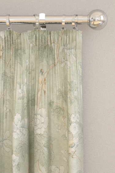 Sanderson Chiswick Grove Sage Curtains - Product code: 226370
