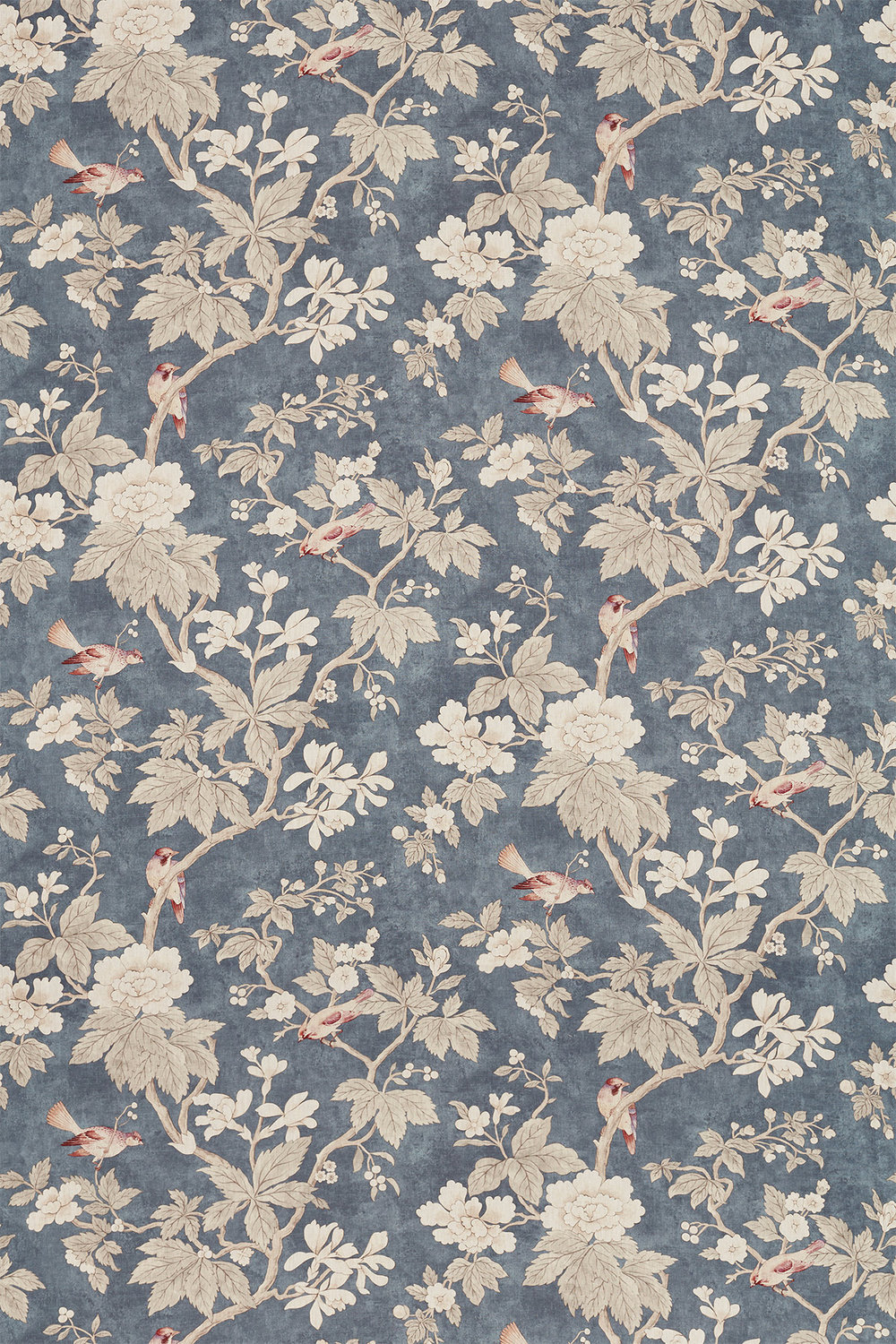 Sanderson Chiswick Grove Charcoal Fabric - Product code: 226371