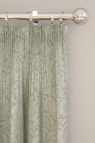 Sanderson Annandale Weave Sage Curtains - Product code: 226466