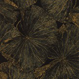 Zoffany Taisho Deco Vine Black Wallpaper - Product code: 312750