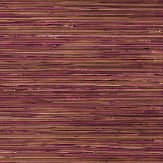 Brewers Faux Grasscloth Pink / Brown / Gold Wallpaper