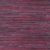 Brewers Faux Grasscloth Magenta / Purple Wallpaper