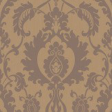 SketchTwenty 3 Bold Damask Beads Copper Wallpaper
