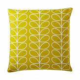 Orla Kiely Small Linear Stem cushion Sunflower