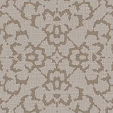 SketchTwenty 3 Fabric Diamond Taupe / Brown Wallpaper - Product code: SL00814