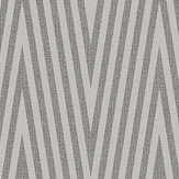 SketchTwenty 3 Chevron Silver / Black Wallpaper