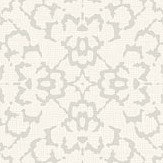 SketchTwenty 3 Fabric Diamond Silver / Cream Wallpaper - Product code: SL00812