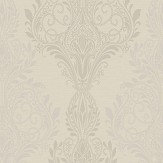 SketchTwenty 3 Sloane Damask Beads Iridescent Straw Wallpaper - Product code: SL00805