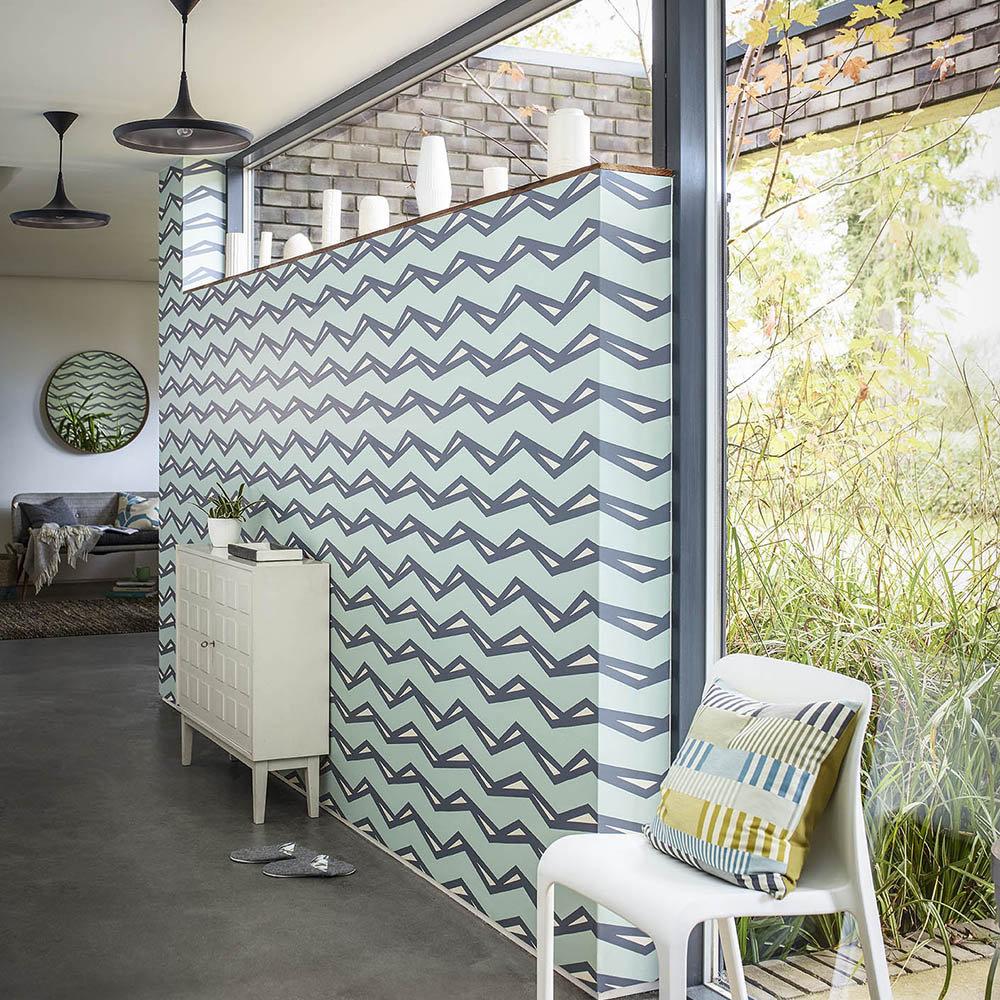 Scion Rayo Mist / Denim Wallpaper - Product code: 111815