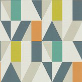 Scion Nuevo Citrus / Paprika / Forest Wallpaper - Product code: 111829
