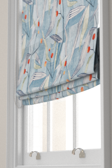 Entity Blinds By Harlequin Brick Denim Fabric