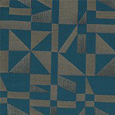 Harlequin Rotation Kingfisher Fabric - Product code: 132529
