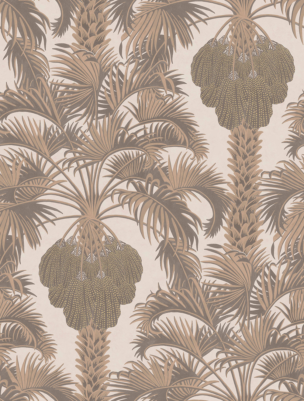 Cole & Son Hollywood Palm Rose Gold Wallpaper - Product code: 113/1002