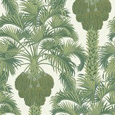 Cole & Son Hollywood Palm Leaf Green Wallpaper