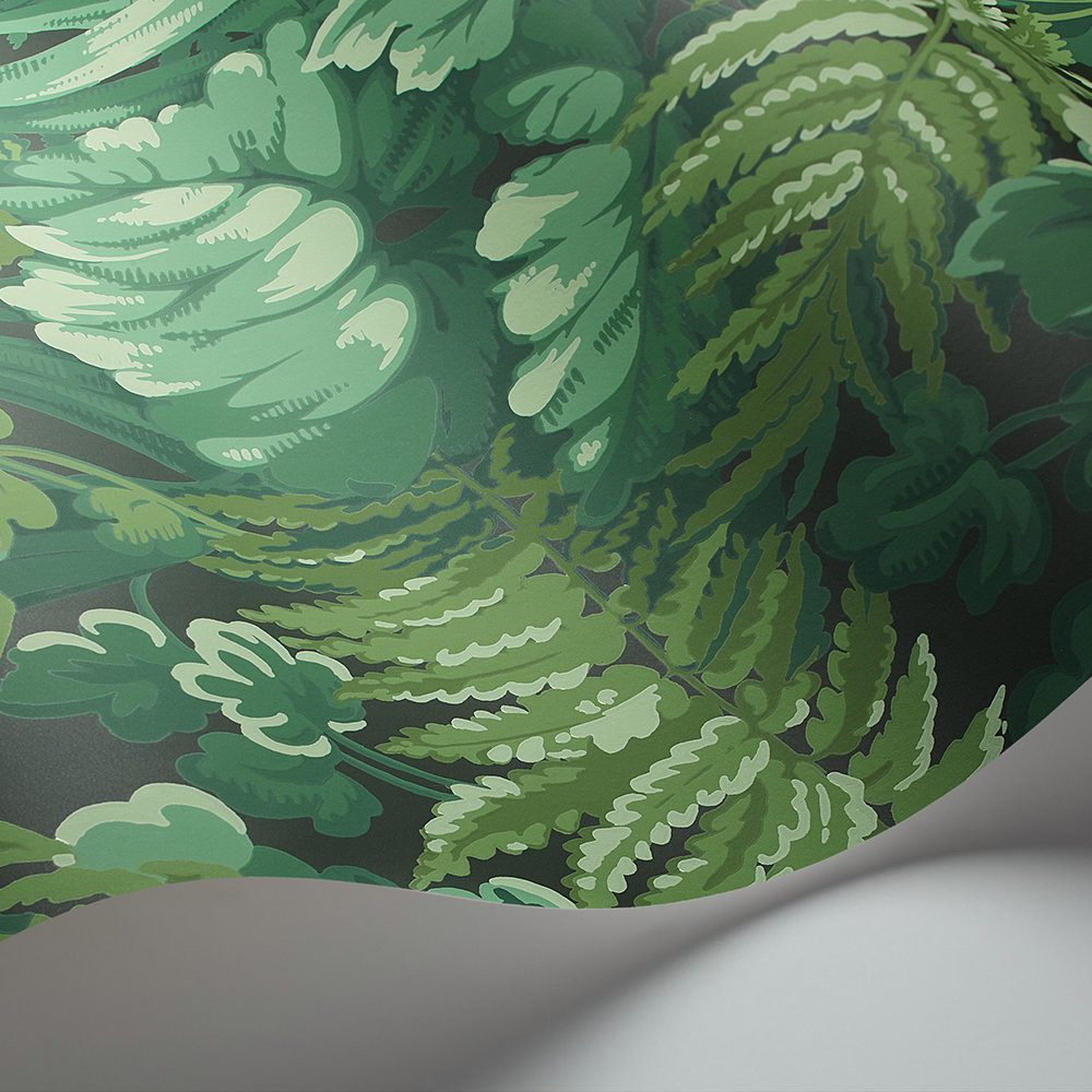 Cole & Son Royal Fernery Forest Green Wallpaper extra image