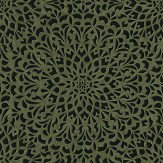 Cole & Son Medina Pewter / Charcoal Wallpaper