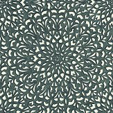 Cole & Son Medina Soot / Snow Wallpaper