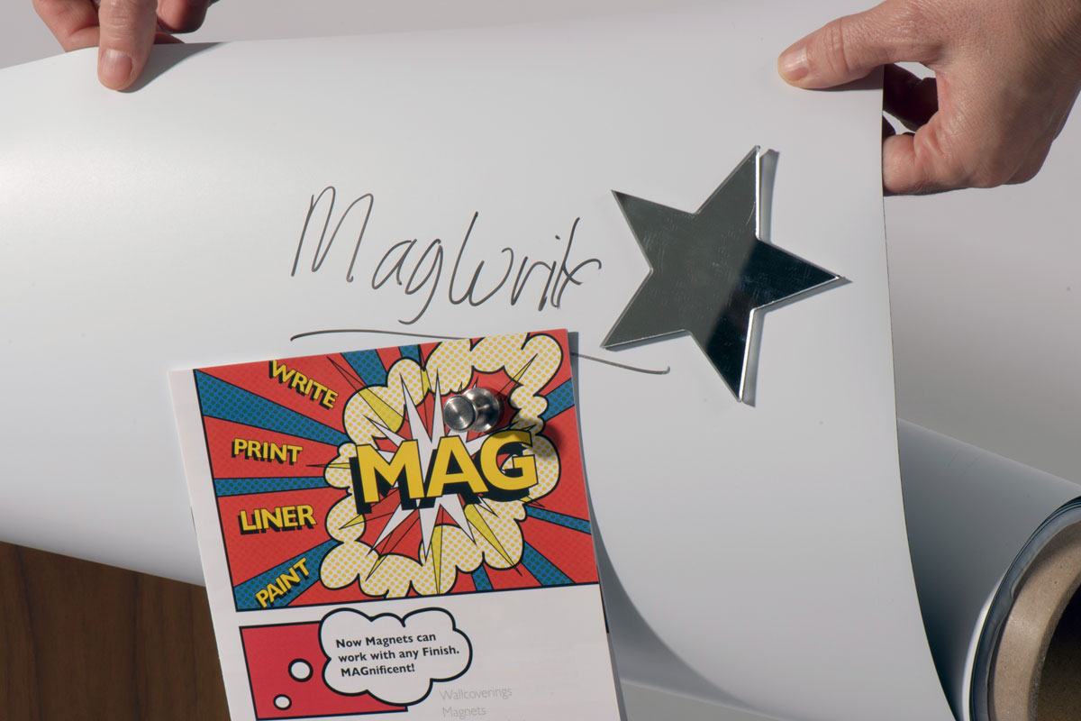 Magscapes Magwrite Matt 3M Lining Paper - Product code: MWR414-03W