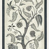 Cole & Son Trees of Eden Panel Charcoal / Parchment Mural