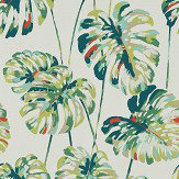 Harlequin Kelapa Emerald / Zest Wallpaper - Product code: 111753