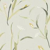 Harlequin Saona Ochre / Linen Wallpaper