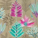Harlequin Yasuni Lagoon / Cerise Wallpaper