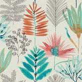 Harlequin Yasuni Paprika / Kiwi Wallpaper