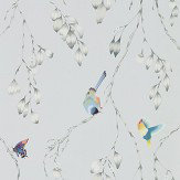 Harlequin Iyanu Mist / Linden Wallpaper