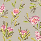 Harlequin Cayo Cerise / Zest Wallpaper - Product code: 111771
