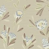 Harlequin Cayo Mist / Linden Wallpaper