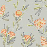 Harlequin Cayo Coral / Silver Wallpaper - Product code: 111773