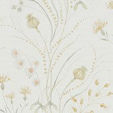 Sanderson Summer Harvest Silver / Corn Wallpaper
