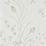 Sanderson Summer Harvest Silver / Chalk Wallpaper