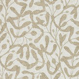 Sanderson Sycamore Trail Gold Wallpaper