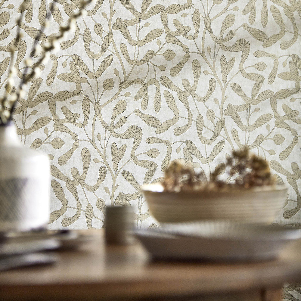 Sanderson Sycamore Trail Gold Wallpaper - Product code: 216501
