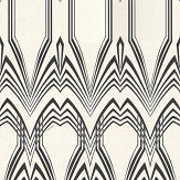 Roberto Cavalli Deco Cream / Black Wallpaper