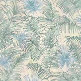 Roberto Cavalli Ferns Green Wallpaper