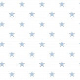 Galerie Stars White / Blue Wallpaper - Product code: G23104