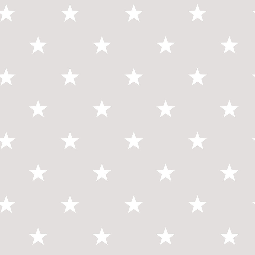 Galerie Stars Warm Grey Wallpaper - Product code: G23109