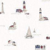 Galerie Lighthouse White Wallpaper - Product code: G23315