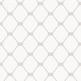 Galerie Nautical Knot White / Greige Wallpaper - Product code: G23344